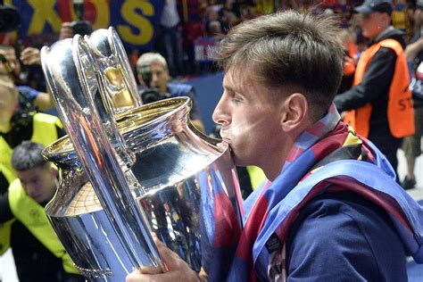 Lionel Messi Makes 100th Champions League Appearance for