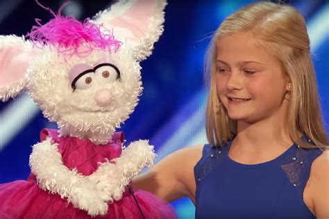 Girl Amazes 'America's Got Talent' With Ventriloquism