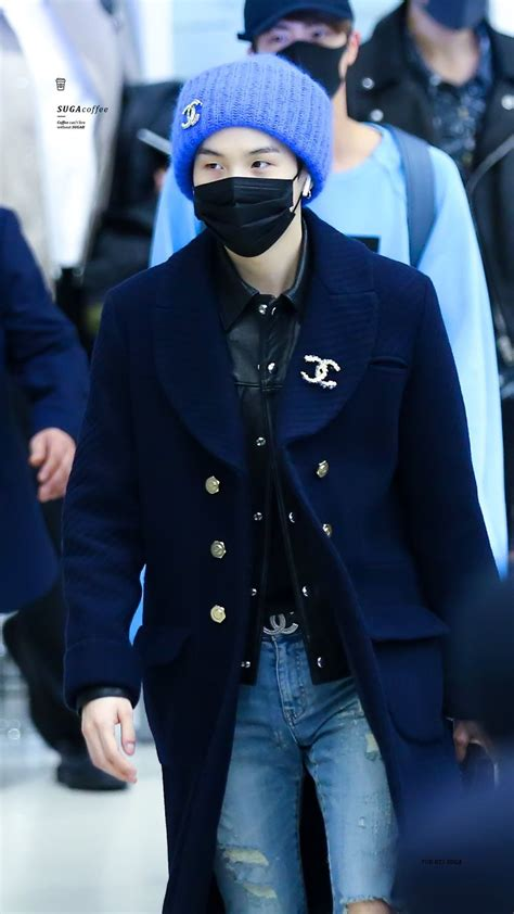 BTS' Suga's Best Style Choices: From Airport Fashion to