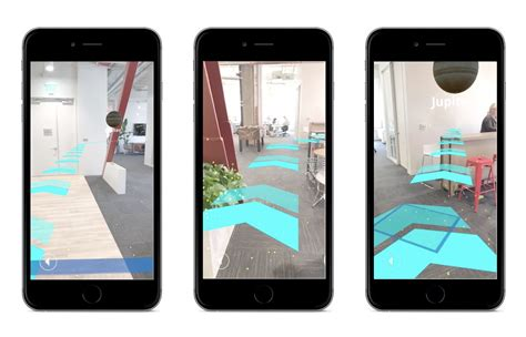 Indoor navigation in AR with Unity – Points of interest