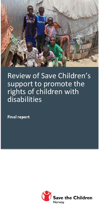 Review of Save the Children's Support to Promote the